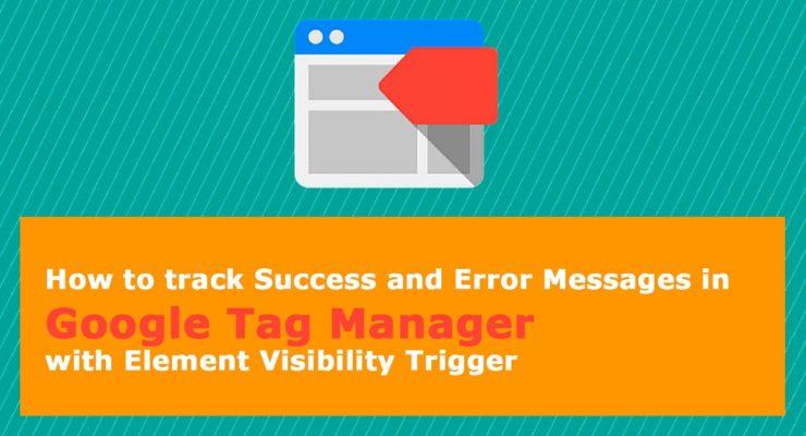 gtm visibility trigger